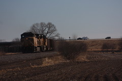 56923 (richiekennedy56) Tags: unionpacific sd70ace ac44cw up8662 up6692 kansas shawneecountyks topeka menoken railphotos unitedstates usa