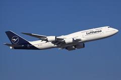 Lufthansa  Boeing 747-830 D-ABYA (widebodies) Tags: frankfurt main fra eddf widebody widebodies plane aircraft flughafen airport flugzeug flugzeugbilder lufthansa boeing 747830 dabya