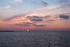Another beautiful sunset over Öresund (Alenius) Tags: malmö malmo malmoe västra vastra hamnen öresund öresundsbron oresund bridge sunset dusk sky clouds silhouette ocean sea water reflections lights