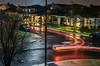 turn it around again (pbo31) Tags: livermore california nikon d810 rain dark night black street eastbay weather over alamedacounty lightstream motion january 2018 winter boury pbo31 color neighborhood streetlight yard reverse