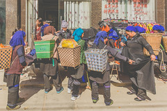 _62A1006 (gaujourfrancoise) Tags: china chine gaujour marchédeshengcun shengcunmarket yunnan yuanyang ethnic ethnique hi hani minority minorités market marché