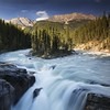 Sunwapta Falls (Kevin.Grace) Tags: sunwapta falls river canada canadian rockies mountains summer island flow