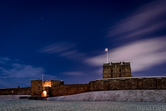 Carlisle Castle (Daniel Coyle) Tags: carlislecastle carlisle castle snow nikon nikond7100 d7100 danielcoyle night nightshot nightphotography nightonearth stars starrynight astrophotography astronomy clouds longexposure cumbria cumbrianight cold blur blue white