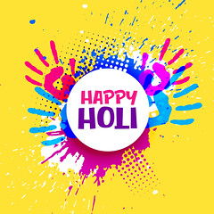happy holi celebration poster banner vector design (bhaveshk.garg) Tags: holi festive festival hindu india greeting card design background happy fun party colors colour colorful enjoy poster invitation basant splash watercolor gulaal asian celebration culture religion faith gulal vibrant rang holiday tradition occasion hand banner