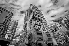 DSC01256 (Damir Govorcin Photography) Tags: clouds monochrome blackwhite sydney cbd sony a7ii wide angle zeiss 1635mm