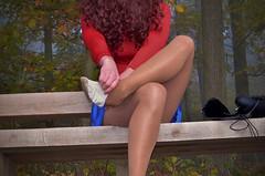Přezouvání (Merman cvičky) Tags: cvičky piškoty gymnastic slippers gymnastikschuhe schläppchen turnschläppchen gym shoe gymnasticshoes gymnasticslippers zapatillas cvicky slipper täppeli gymnastiktoffel gymnastikslipper punčocháče pantyhose strumpfhosen strumpfhose tights collants medias collant socks nylons socken nylon spandex elastan lycra