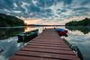 Mrągowo sunset (Pastel Frames Photography) Tags: polska poland mragowo hometown lakejuno boats amazingsunset sunset canon5dmark3 canon1635mm reflections reflection photography mazury masurianlakes