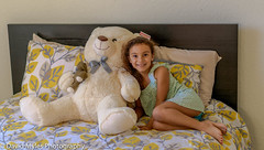D85_5292 (mylesfox) Tags: teddy bear child bed