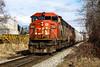 CN 5521 ~ Lulu Island Industrial Line (Chris City) Tags: train railway railroad branchline cn cnr sd60f vancouver burnaby thorntonyard ewenbranch