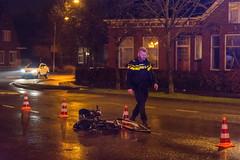 10012018-1584 (Sander Smit / Smit Fotografie) Tags: ongeluk woldweg wijkstraat appingedam auto fietser hulpdiensten gewond