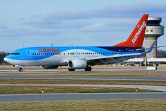 OO-JAV (Sunwing - TUIfly) (Steelhead 2010) Tags: sunwingairlines tuifly boeing b737 b737800 ooreg oojav yhm