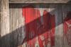 Red strokes (SauceyJack) Tags: 10028l 2018 abandoned camptontownship canon1dxmarkii detail deteriorated elgin exploration fallingapart farm grischowfarms il illinois january rust saturday urban urbanexploration urbex wood