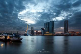 Erasmusburg & Nieuwe Maas, Rotterdam