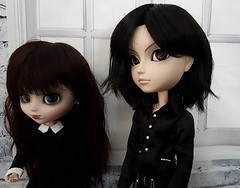 (claudine6677) Tags: taeyang pullip groove doll asian dolls sebastian michaelis black butler kuhn puppen sammlerpuppen