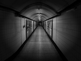 Underground Passage, London, England