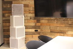 Interieur - Akustik - Design (nonoiz acoustic elements) Tags: style art lifestyle modern effektiv colour pattern interior wall wand room raum nonoiz acoustic elements akustik lösung solution business noize laut leise silence design