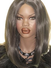 Mannequin Patina-V Atong (capricornus61) Tags: patinav display mannequin shop window doll dummy dummies figur puppe schaufensterpuppe art face body hobby sammeln collecting woman women black female feminine frau weiblich plastic home indoor