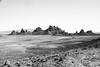 Trona Pinnacles, San Bernardino County, California (paccode) Tags: solemn california d850 forgotten landscape winter hills serious scary quiet desert monochrome blackwhite unitedstates us lunar moon