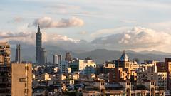 Taipei (brandnewfilms) Tags: skyline taipei taiwan clouds downtown taipei101