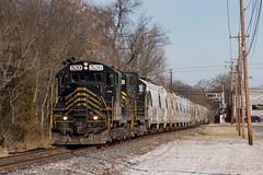 W&W CM-31 @ Bridgeton, NJ (Dan A. Davis) Tags: ww winchesterwestern gp9 freighttrain railroad locomotive train cm31 bridgeton nj newjersey