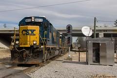 One Last Hoorah (kcerrato1) Tags: csx csxt f756 columbia subdivision sline s line sc south carolina fairfax cayce seaboard sbd signals