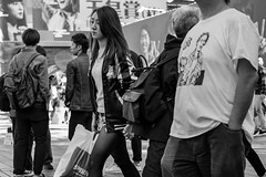 She Wolf (burnt dirt) Tags: asian japan tokyo shibuya station streetphotography documentary candid portrait fujifilm xt1 bw blackandwhite laugh smile cute sexy latina young girl woman japanese korean thai dress skirt shorts jeans jacket leather pants boots heels stilettos bra stockings tights yogapants leggings couple lovers friends longhair shorthair ponytail cellphone glasses sunglasses blonde brunette redhead tattoo model train bus busstation metro city town downtown sidewalk pretty beautiful selfie fashion pregnant sweater people person costume cosplay shopping bag wolf
