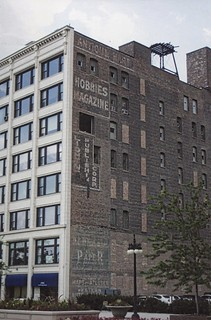 Chicago Illinois  - Lightner Building - Hobbies Magazine - Ghost Signs - Vintage