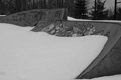 XP020101 (My1K) Tags: blackandwhite blackwhite bw snow graffiti