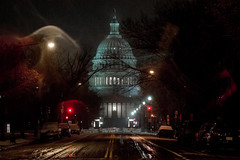Cold night in Washington. (ravalli1) Tags: washington capitol us snow cold night districtofcolumbia building architecture art
