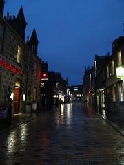 A Rainy Night (Ian Robin Jackson) Tags: night aberdeen belmontstreetaberdeen rain rainy lights reflections street windows places sony zeiss darkness scotland scottish alba