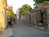 Cobble Street Colonia (jann.haemers) Tags: cobblestones cobble street old town colonia del sacramento uruguay south america historic carriage chariot choperia mastra summer outdoor outside village city