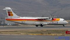 EC-LSQ LEMD 10-01-2018 (Burmarrad (Mark) Camenzuli Thank you for the 10.3) Tags: airline iberia regional air nostrum aircraft atr 72212a600 registration eclsq cn 1041 lemd 10012018
