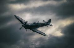 Supermarine Spitfire RR232 HF Mk IXc (nigdawphotography) Tags: spitfire supermarine plane airplane aircraft fly war fighter allied raf ww2 rr232 sky cockpit