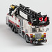 KME Aerialcat Front (Davidzq) Tags: 2017 brickon2017 lego fire kme aerialcat 7wide davidzq ladder tower