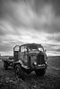 Thames (amcgdesigns) Tags: 10stoppernweldglass andrewmcgavin clouds decay forres local oldvehicle rusty sky slowshutter truck eos7d fordsonthames scotland longexposure rafford blackandwhite monochrome silverefex
