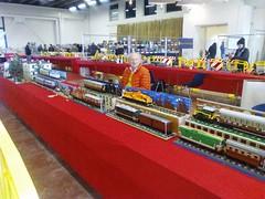 Winter Bricks 1 (Claudio Calzoni) Tags: moc lego train diorama engine vagon bricks carriage rail