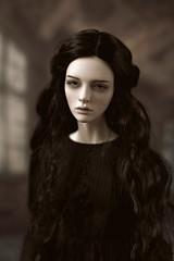 who is she? (dolls of milena) Tags: bjd abjd resin doll iplehouse harace portrait vintage retro