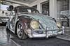 1963 VW Bug (Jason DM) Tags: octoberfest show car hdr lens sigma d5100 nikon lowered classic patina beetle bug volkswagen vw