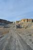 barren land (l i v e l t r a) Tags: barren rough yellow rock rugged terrain utah tracks erosion land desolate sky f11 35mmart nikon d4s texture