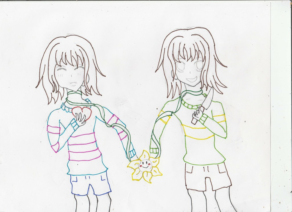 The Worlds Most Recently Posted Photos Of Chara And Frisk