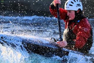 Lea Valley Slalom Training