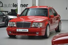 1995 Mercedes E 60 AMG W124 Signaalrood (33) (aganesaganes) Tags: