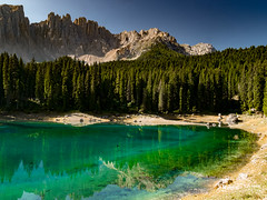 Lago di Carezza  -Carezza lake - Karersee (Massimo Saviotti) Tags: flickr awesome camera dmcg6 lumix lumixgvario14140 mft massimosaviotti microfourthird mirrorless panasonic saviottimassimophotography acqua beautiful bello best bestphoto bestshot bombomachides bosco cima colore colori colour colours fantastic fantastico fineart forest foresta good great hdr laghi lago lake lakes landscape landscapes magnifico massiccio mons montagna montagne monte mountain mountains natura nature paesaggi paesaggio panorama pianta piante plant plants sightseen trees vista water wood woods