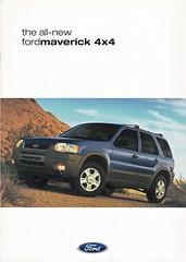 Ford Maverick brochure 09-2000 (sjoerd.wijsman) Tags: carbrochure brochure autobrochure prospekt folleto car cars auto voiture fahrzeug brochura opuscolo broschyr vehicle ford maverick fordmaverick 092000 2000