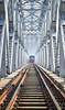 Incoming... ((͡° ͜ʖ ͡°)) Tags: train railway bridge bangladesh ironic steel structure construction
