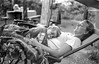 (Gregory Heath) Tags: 50mmf18 film ilford hp5 xtol 11 12min 35mm mombaby portrait bw truepeace nikon f100
