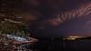 Kolleviks badplats, Karlshamn (tonyguest) Tags: kollevik badplats karlshamn blekinge sweden sea snow hanö fyr lighthouse night shot tonyguest tony guest stockholm clouds stars camping sky blekingelän sverige kolleviks