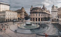 GE NO VA (FButzi) Tags: genova genoa liguria italia italy piazza de ferrari fontana fountain