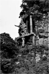 新竹尖石泰雅勇士像 (getaiwan) Tags: 新竹 尖石 泰雅 勇士像 原住民 雕像