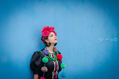 Beatriz Coelho (Hugo Miguel Peralta) Tags: nikon d7000 retrato portrait lisboa lisbon fashion mode frida khalo colors 80200 28